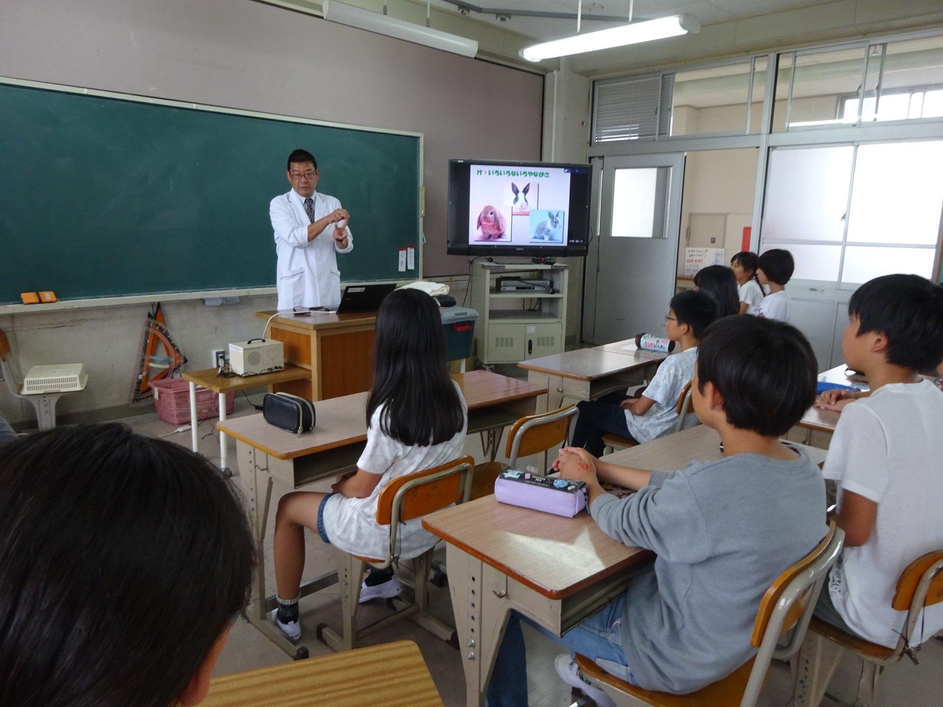 学校飼育1